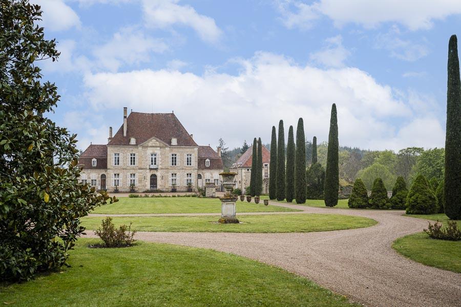 Photographe immobilier : Un magnifique château à vendre à Avallon
