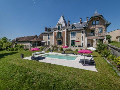 Photos immobilier : Reportage au château Le Barreau à Chemilly sur Yonne