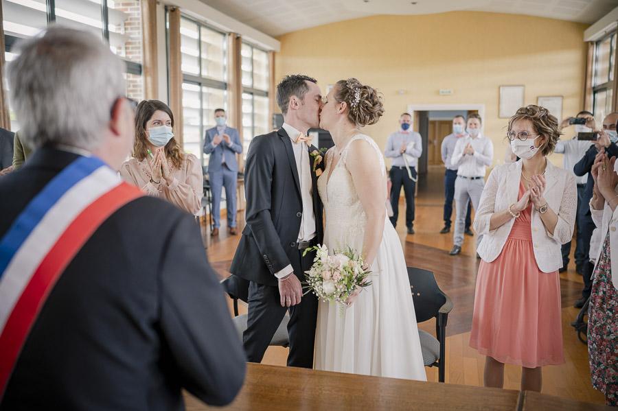 Le mariage en petit comité de Lucie et Clément